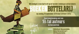Boekenbottelarij @ Bibliotheek Maasmechelen